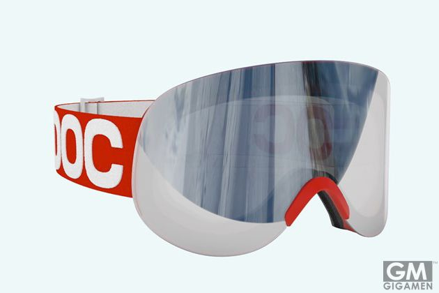 917f65243a POC Lid Snow Goggles are everything we could hope for in Winter Optics.  Never hesitant when it comes to style  The frameless design is sleek and  futuristic ...