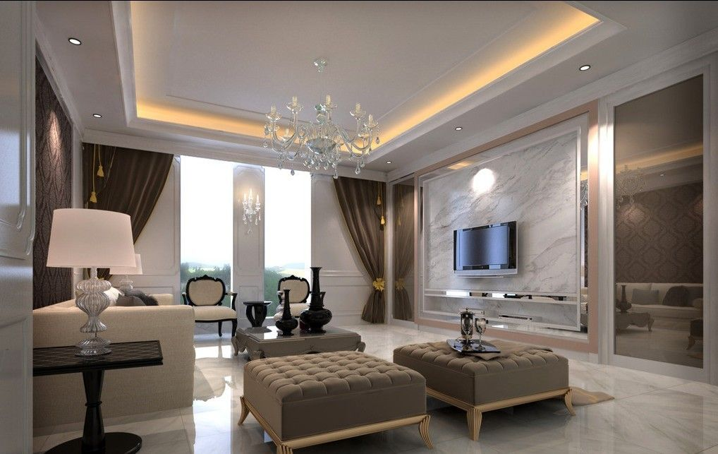 classic living room design:exquisite classic living room d design