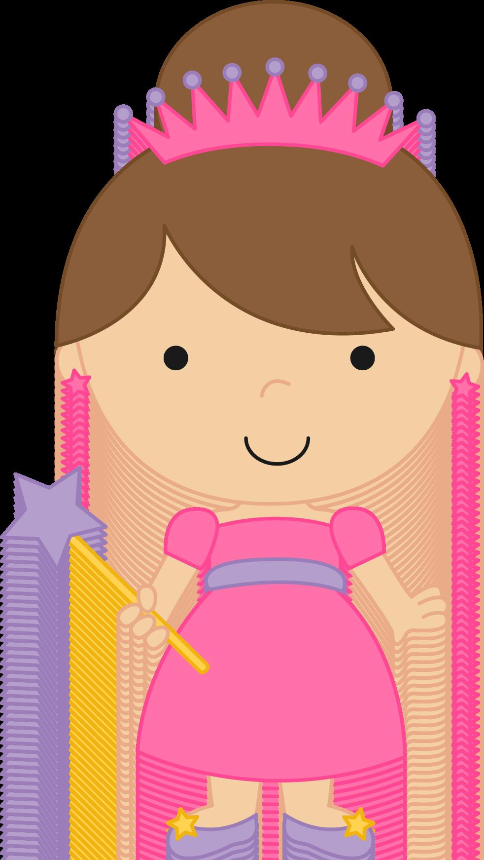 princesas e pr ncipes fairytale princess clipart 03 png minus rh pinterest com Little Princess Clip Art Princess Crown Clip Art