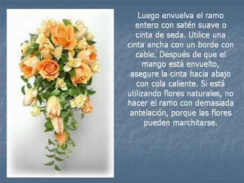 Como hacer un ramo de novia en cascada ramos de novia - Como hacer un ramo de flores artificiales ...