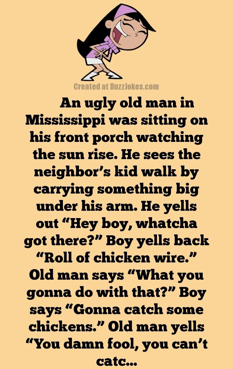 Funny Old Geezer Joke An Old Man V S The Neighbor S Kid In 2020