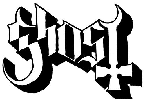 Ghost Collection 2010 2016 Ghost Logo Band Stickers Band Logos