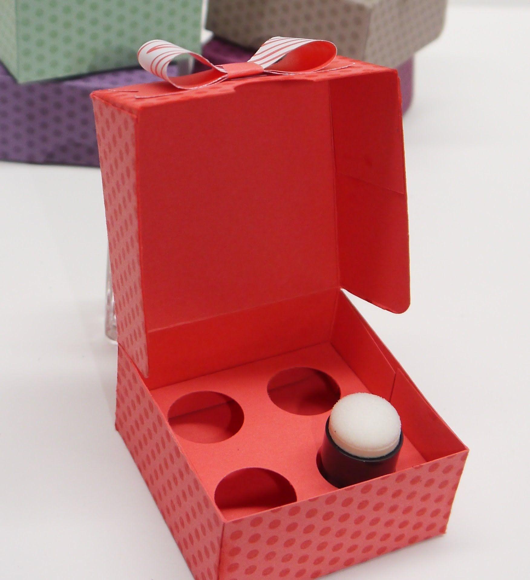 Aufbewahrungsbox f r fingerschw mmchen dauber spong for Aufbewahrungsbox selber machen