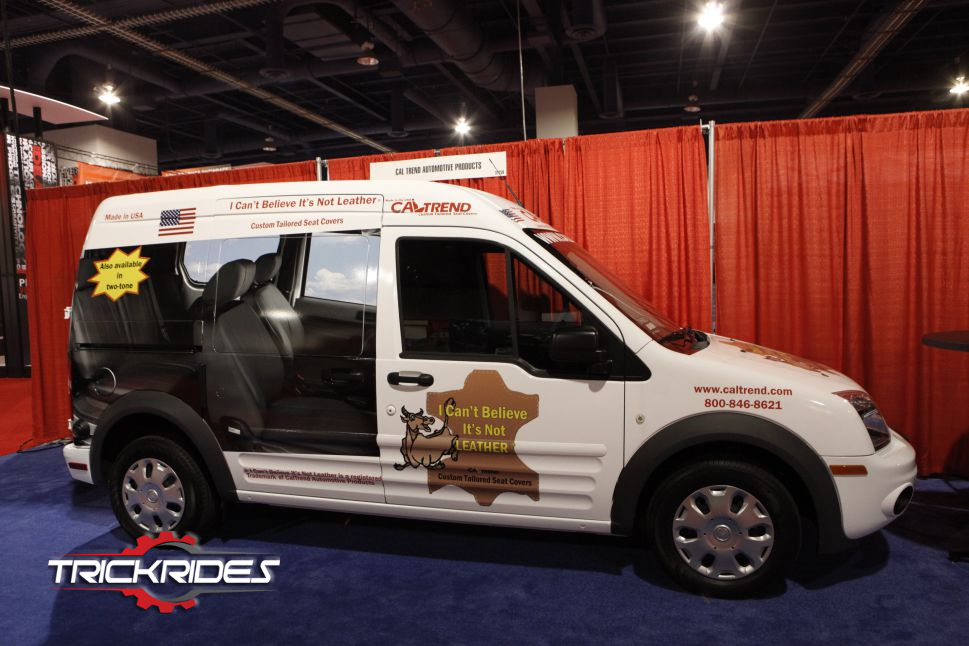 Ford Transit Connect By Cal Trend Automotive Products At Sema