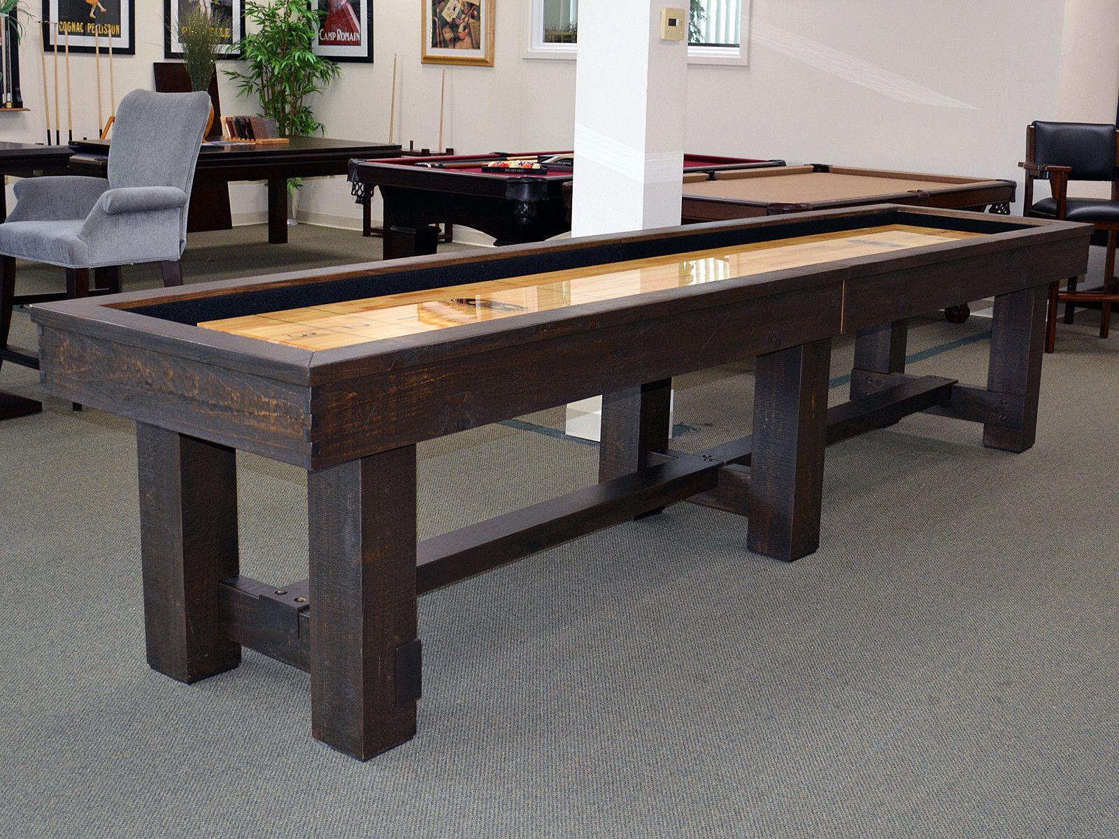 Olhausen Breckenridge Shuffleboard Table By Olhausen