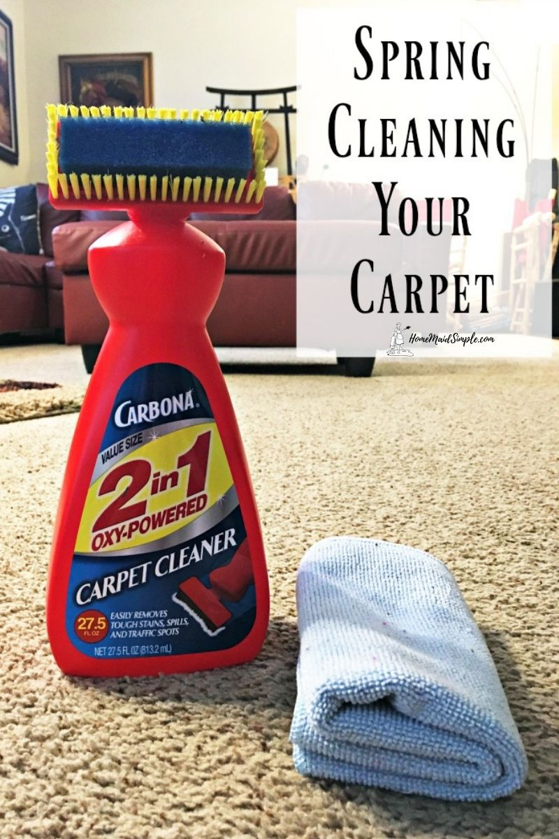 Spring Clean Your Carpet Cleaning How To