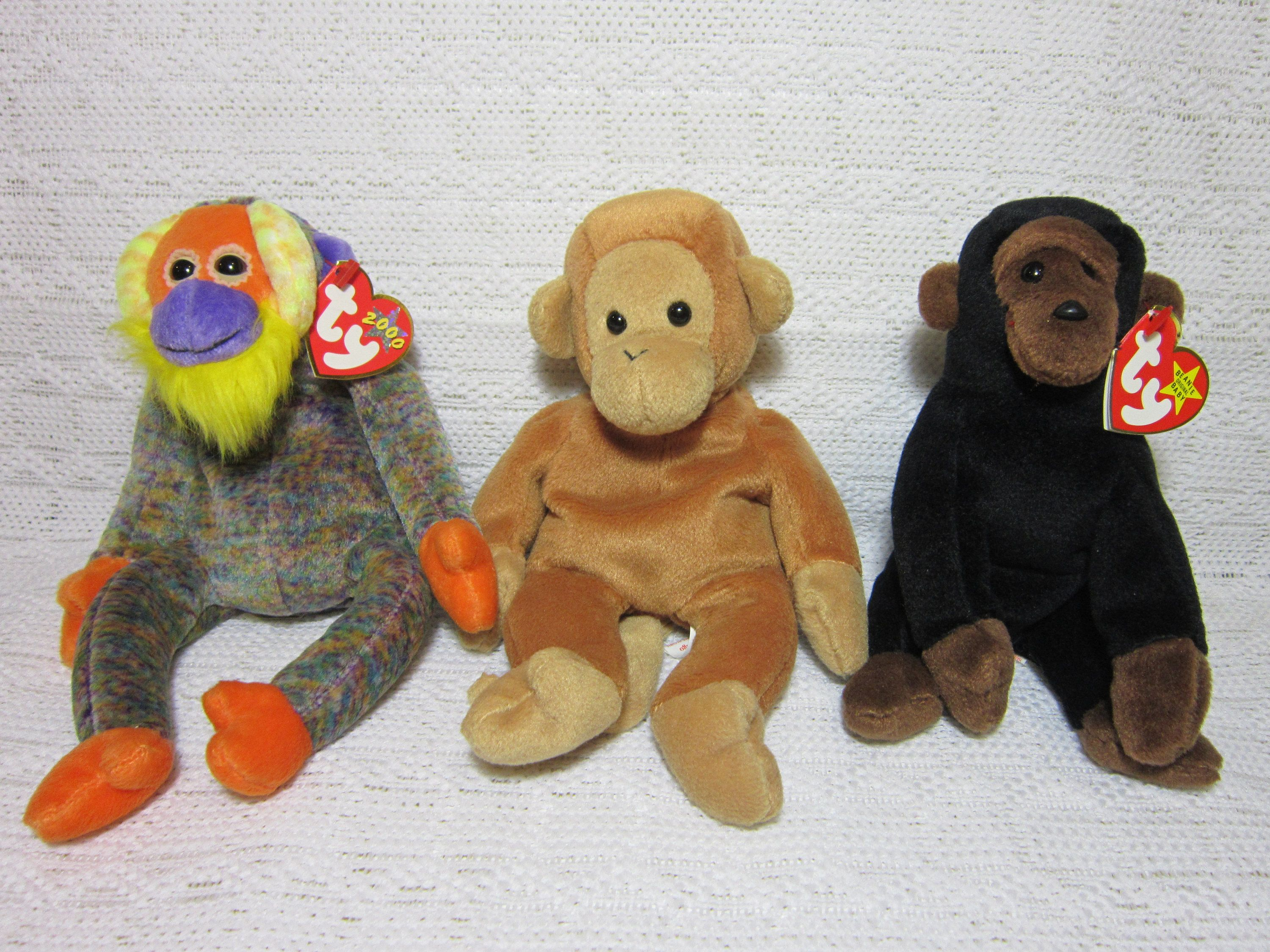 e29acd9229f Collectible Monkey Ty Beanie Babies - Congo the Gorilla