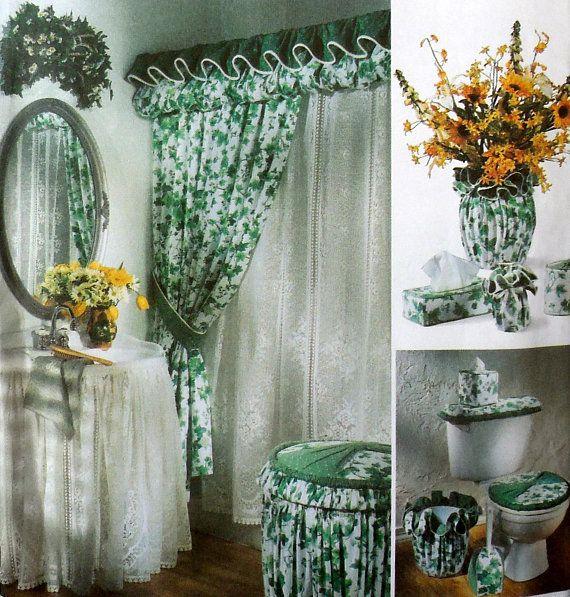 Simplicity 7183 Home Decorating DIY Bathroom or Powder ...