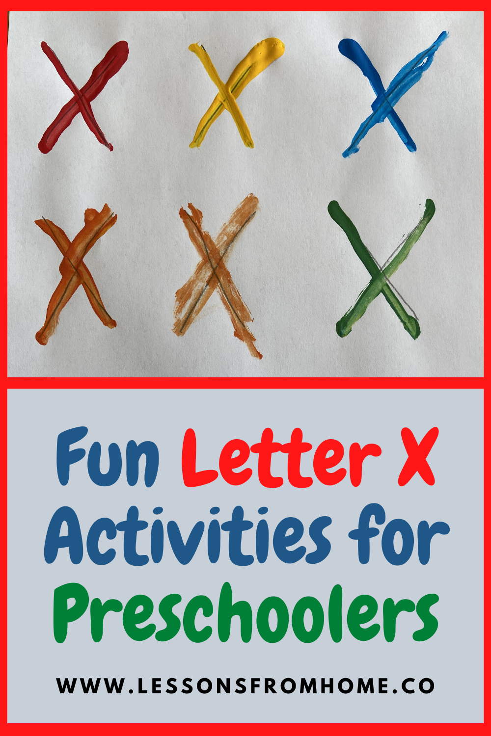 Simple And Fun Letter X Activities For Preschoolers Preschool Activities Letter Activities Preschool Preschool Learning Activities [ 1500 x 1000 Pixel ]