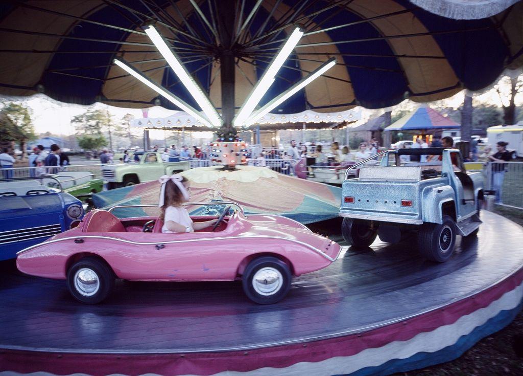 Carnival ride in rural america 1980 carnival rides