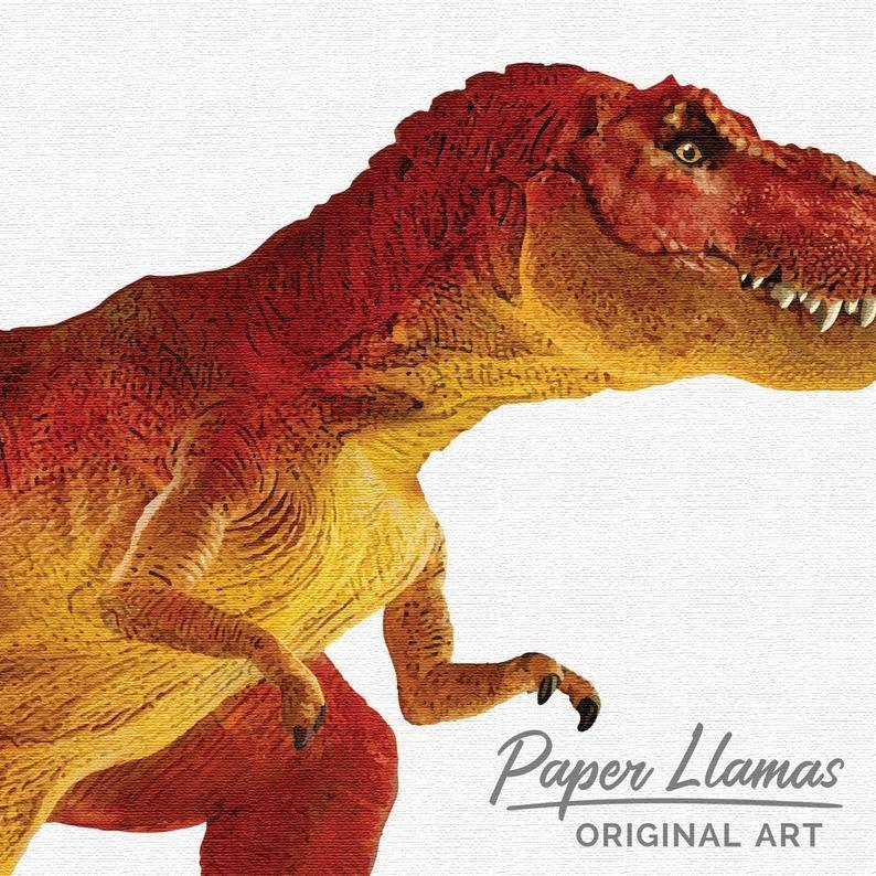 Tyrannosaurus Rex Dinosaur Nursery Art Children S Unframed Print