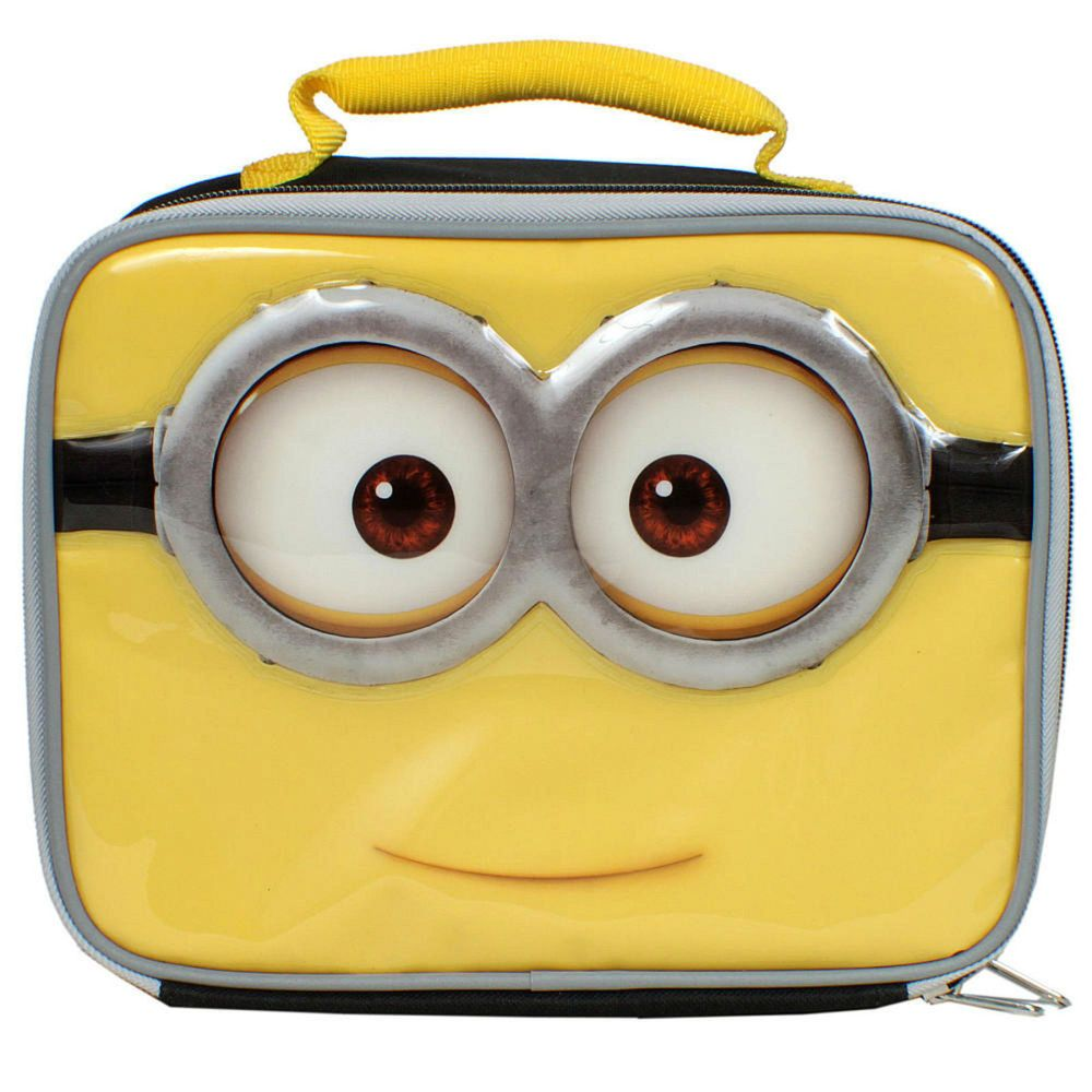 Deable Me Minions Lunch Box Kit New Insulated Minion School Bag Deableme Lunchbag