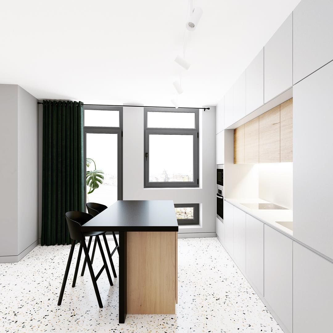 Kitchen for JAINT project. #emildervish #yellowtrace #dezeen ...