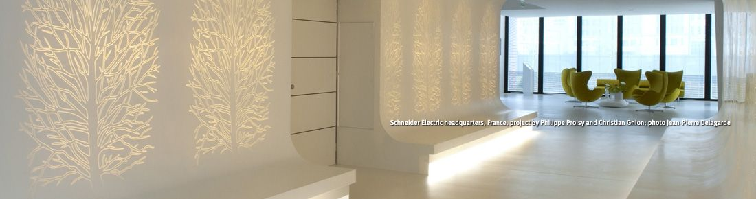 Architects And Designers Are Breaking Boundaries With Interior Wall Panels In Co Interior Walls Corian Wall Panels