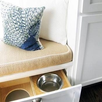 Hidden Pet Food Bowls & Hidden Pet Food Bowls | updating the kitchen | Pinterest | Food bowl ...