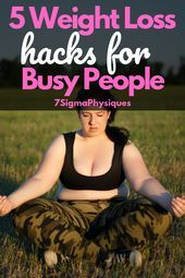 5 Weight Loss Hacks for Busy People  Weight Loss Tips