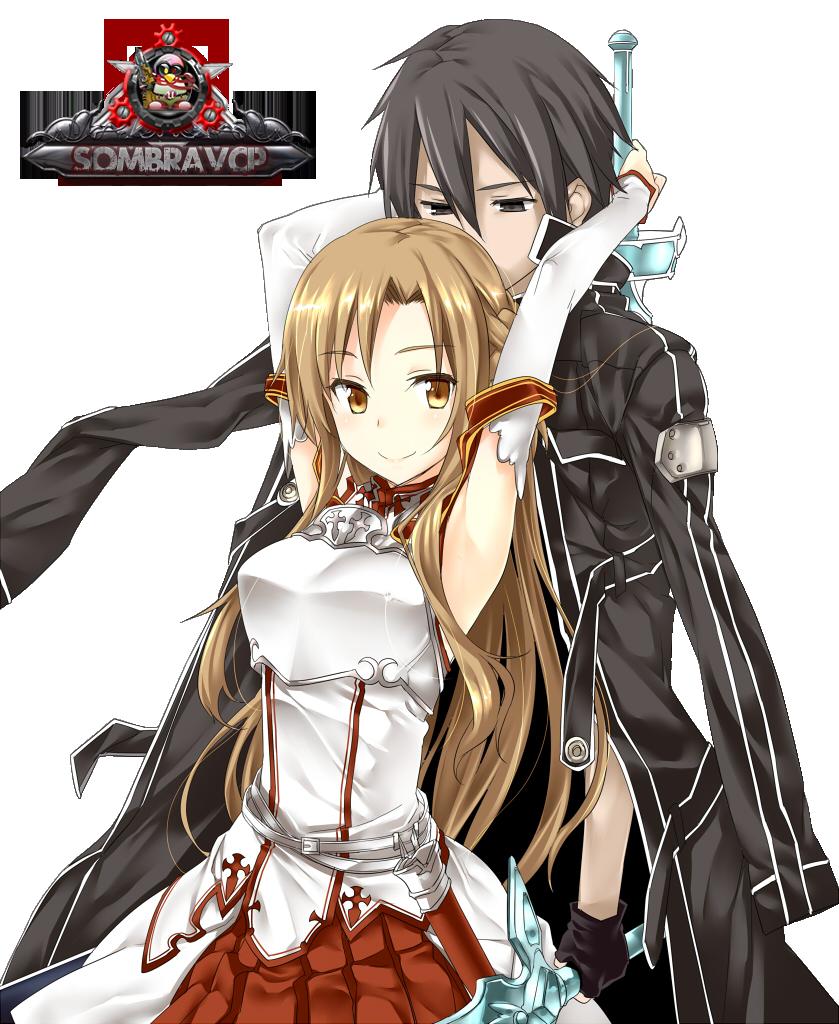 Render Sword Art Online - Renders Sword Art Online Kirito Asuna ...