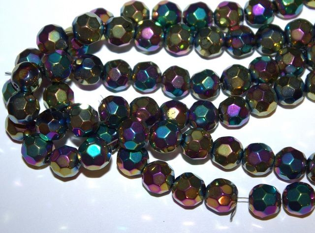 Glass Faceted Beads. Starting at $5