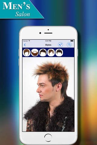Hairstyles App Download Men's Salon  Men's Hairstyles Gallery App For Iphone