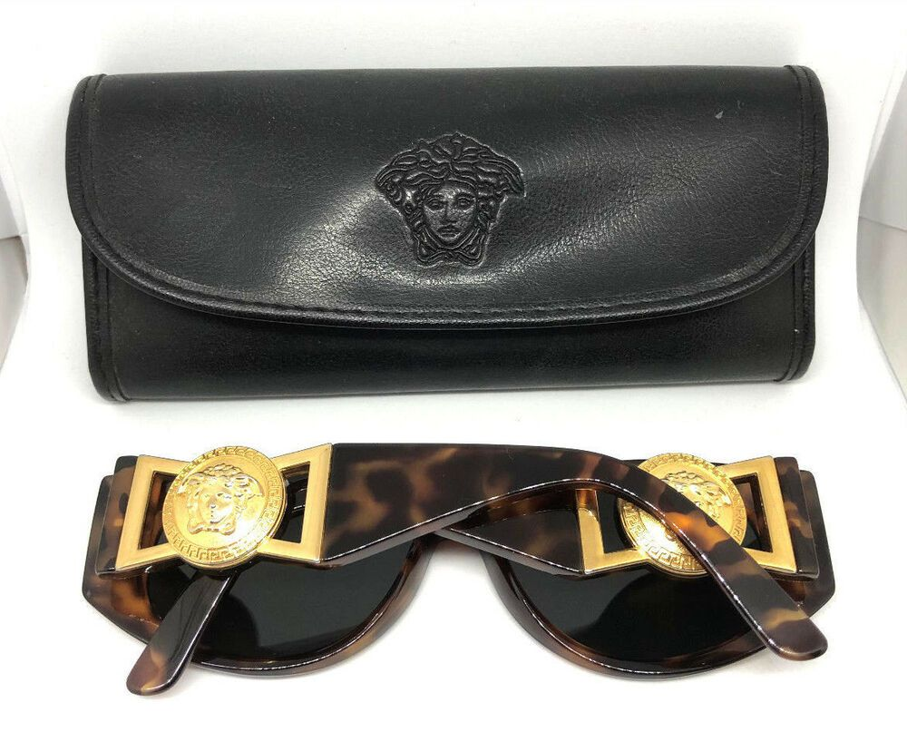 76a4f7ebecf18 Gianni Versace Mod.424 Col.869 OD Vintage Sunglasses CHRIS BROWN MIGOS  NOTORIOUS  affilink  vintagesunglasses  vintage