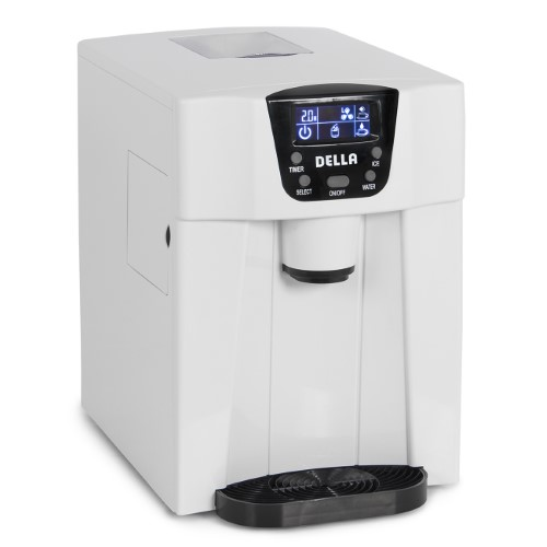 Della Freestanding Water Dispenser With Built In Ice Maker Machine
