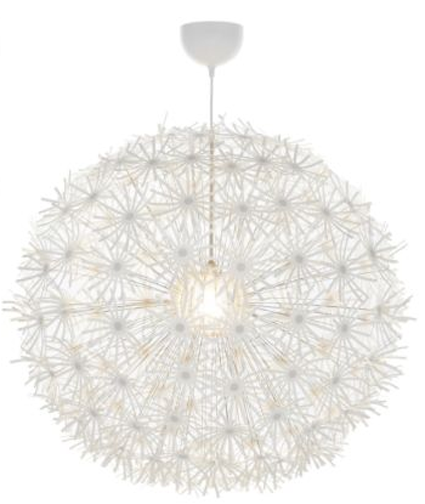Dandilion Chandelier w/ lights from Ikea. So popular and beautiful. - Dandilion Chandelier W/ Lights From Ikea. So Popular And Beautiful