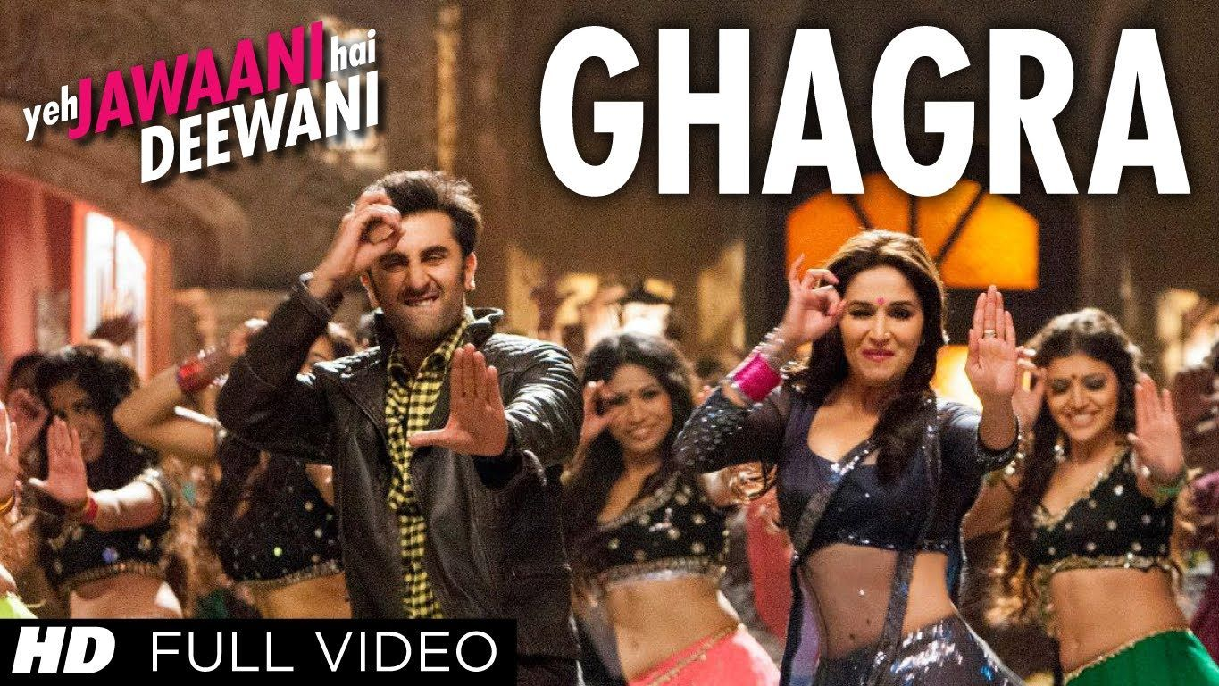 ghagra yeh jawaani hai deewani full hd video song | madhuri dixit