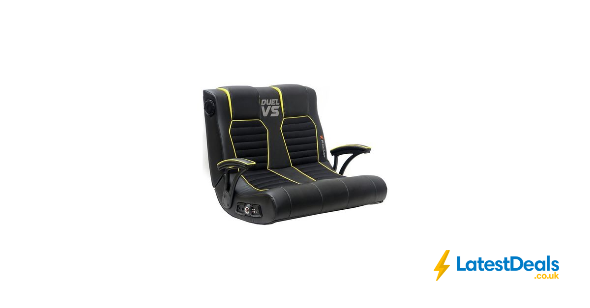XRocker Duel vs Double Gaming Chair, £119.99 at Argos
