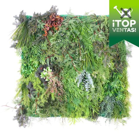 Plantas artificiales placa de jard n vertical artificial for Plantas artificiales jardin vertical