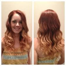 Red Hair With Blonde Balayage Strawberry Blonde Hair Color Red