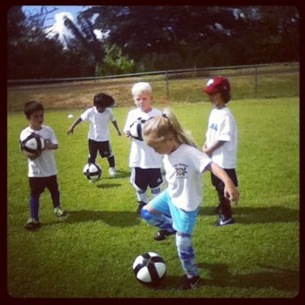 U6 Na Koa Soccer team