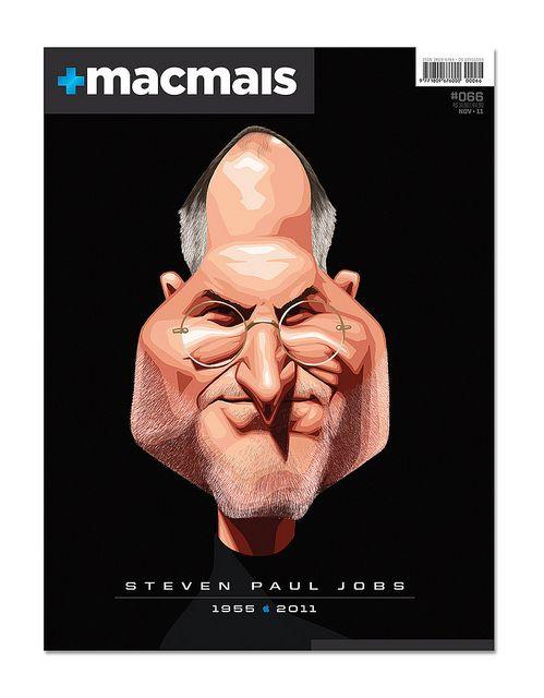 Designer: Sergio Bergocce   Macmais Magazine   Ilustration from Batipstão.