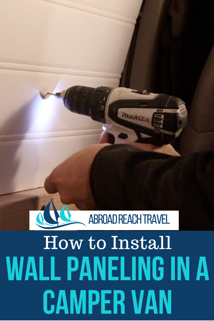 Photo of How to Install Van Wall Paneling – Abroad Reach Travel