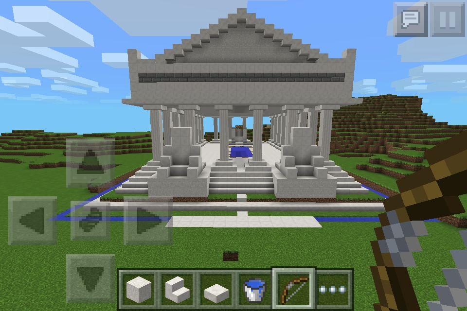 Greek Temple Minecraft Designs Greek Temple Minecraft