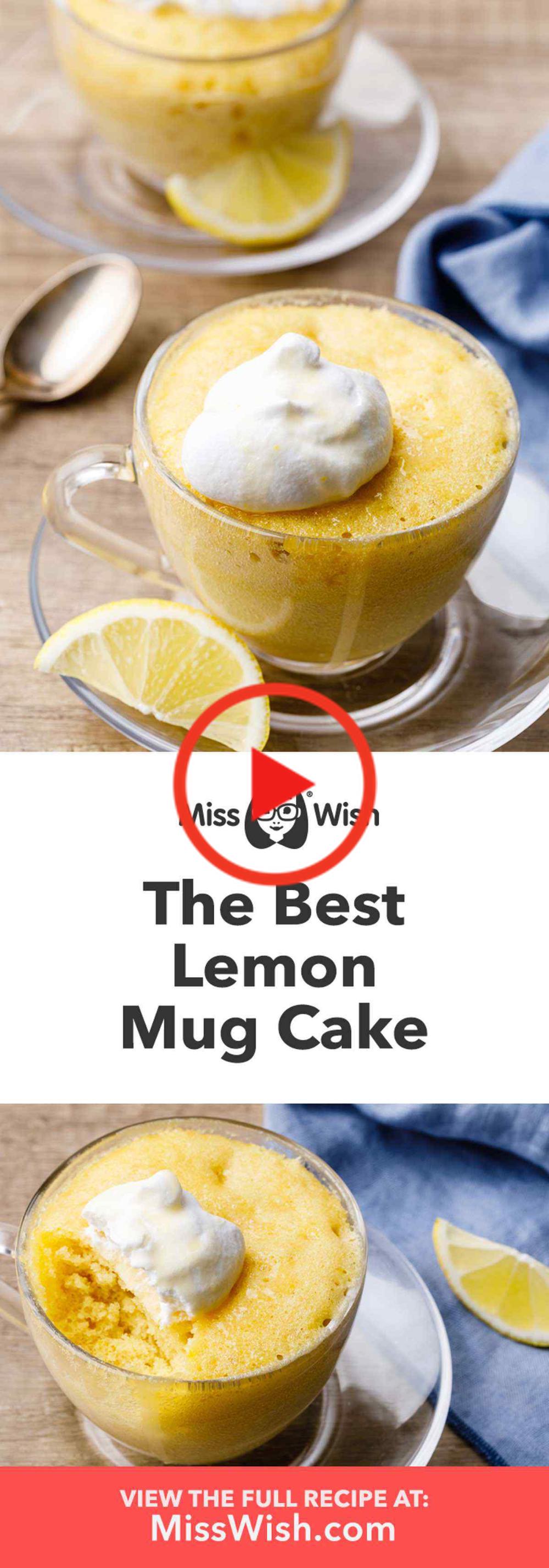 Hoe maak je de beste zelfgemaakte Lemon Mok Cake