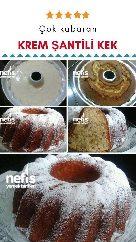 Hamuru Krem Şantili Çok Kabaran Kek Tarifi nasıl yapılır? 6.838 kişinin defterindeki bu tarifin resimli anlatımı ve deneyenlerin fotoğrafları burada. Yazar: Merve Horos #donutcake