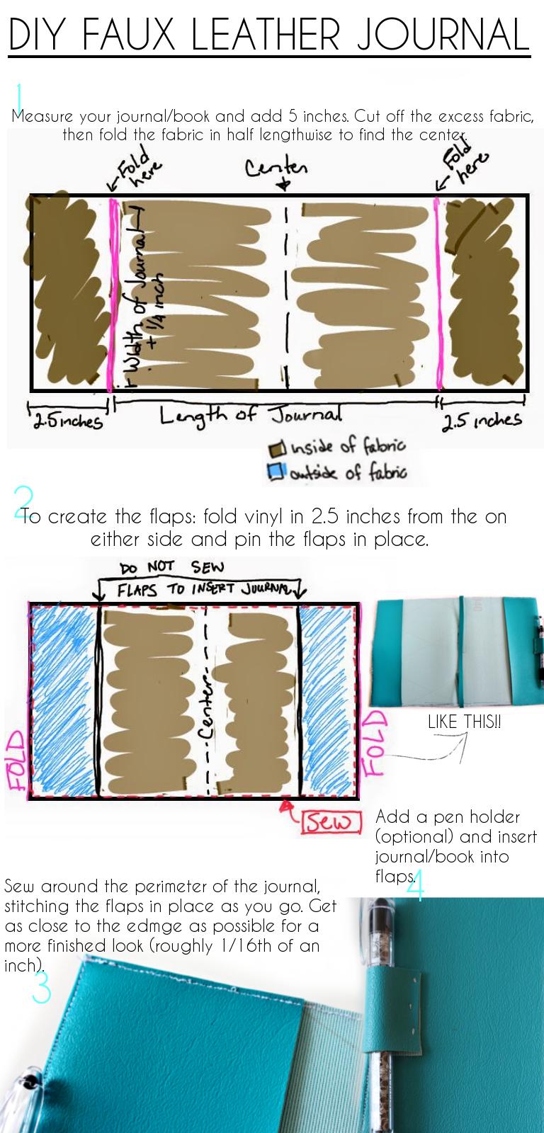 22++ Diy faux leather journal ideas