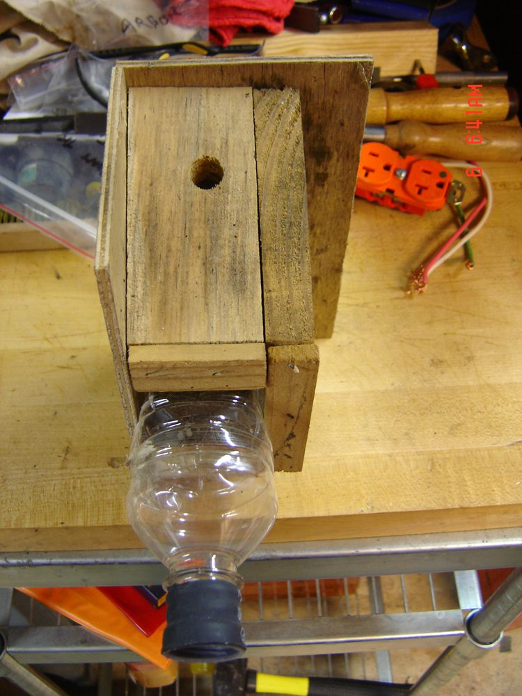 Carpenter bee traps my own design bee traps carpenter