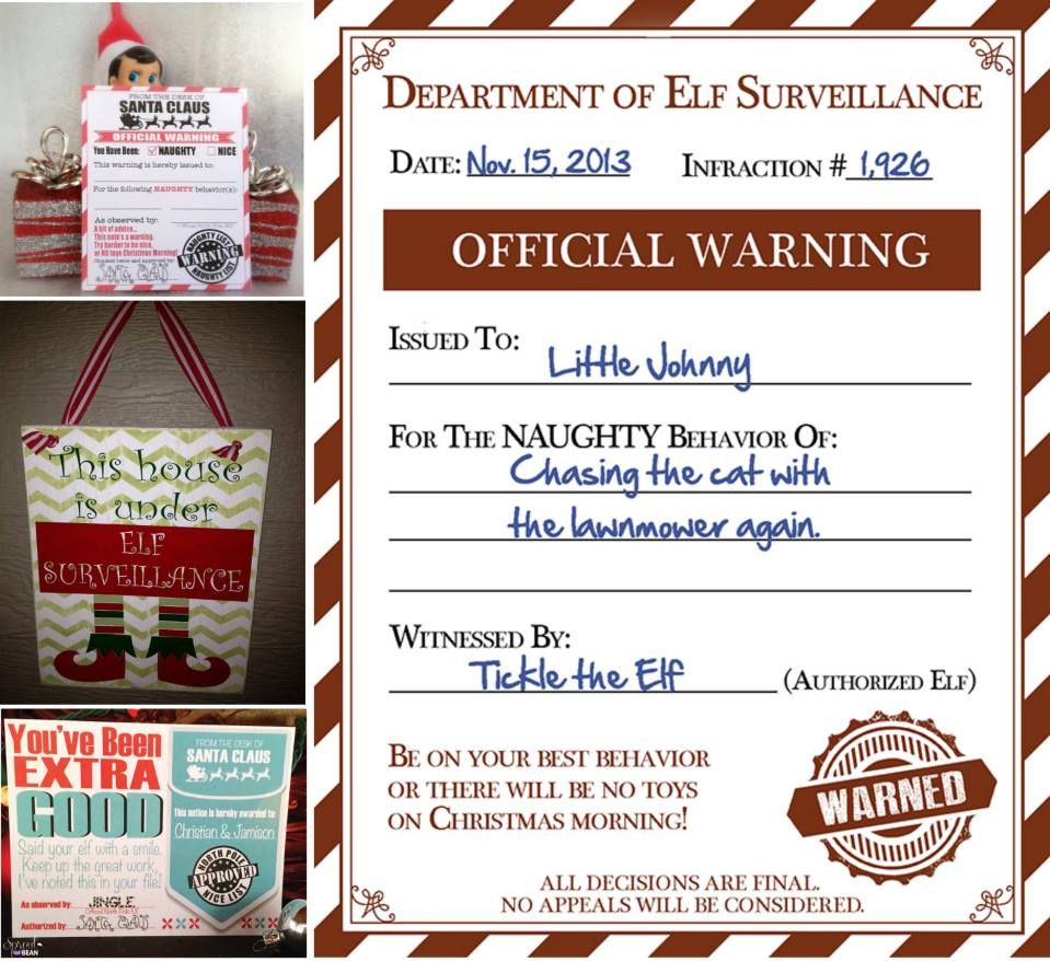 Elf Surveillance..this is such a kool idea during the stay at home ...