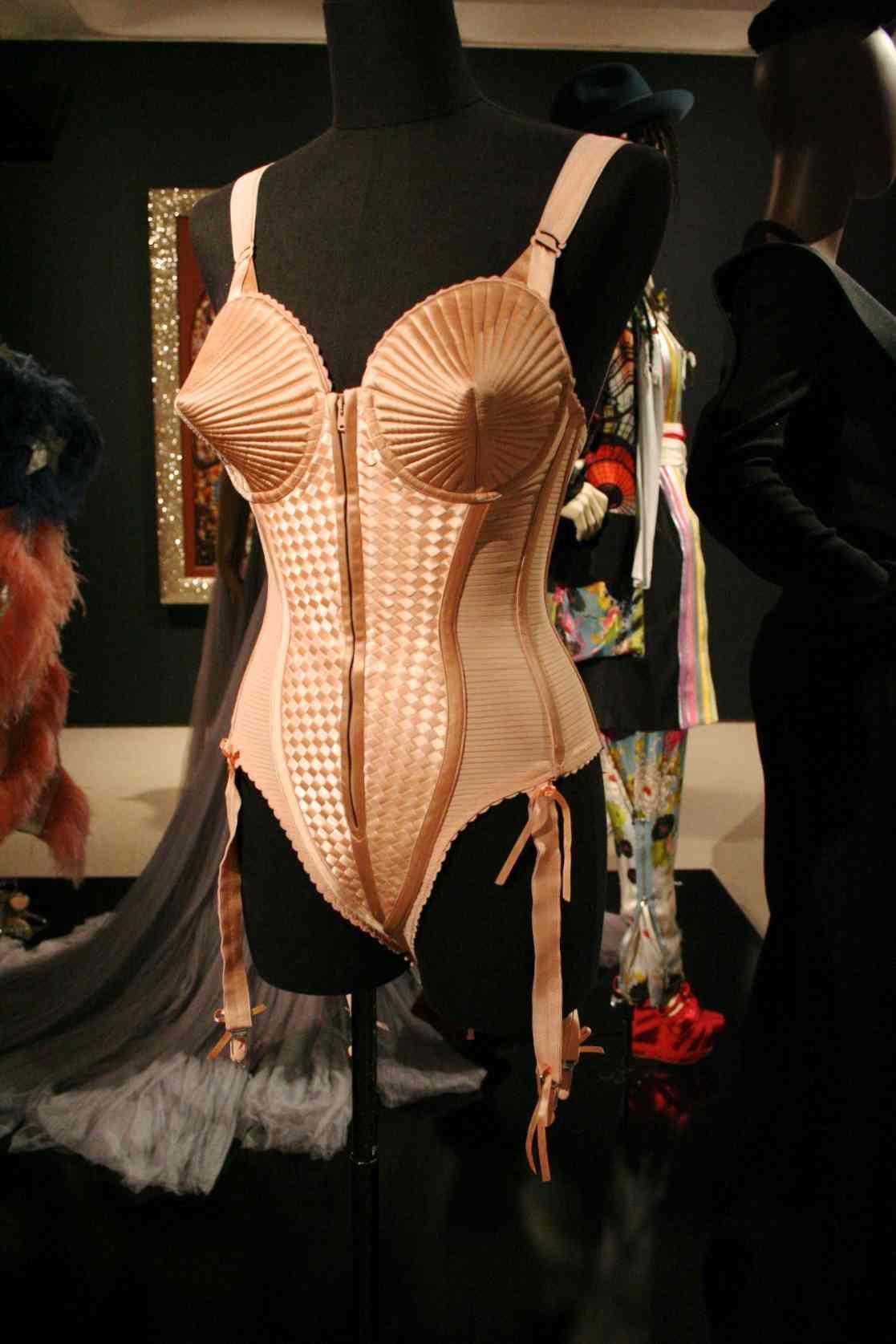 f1c30c832db Madonna corset - John Paul Gaultier Exhibition