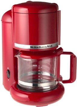 Amazon Com Kitchenaid Kcm055 4 Cup Ultra Coffeemaker Empire Red Kitchen Dining Kitchen Aid Coffee Maker Kitchen Appliances