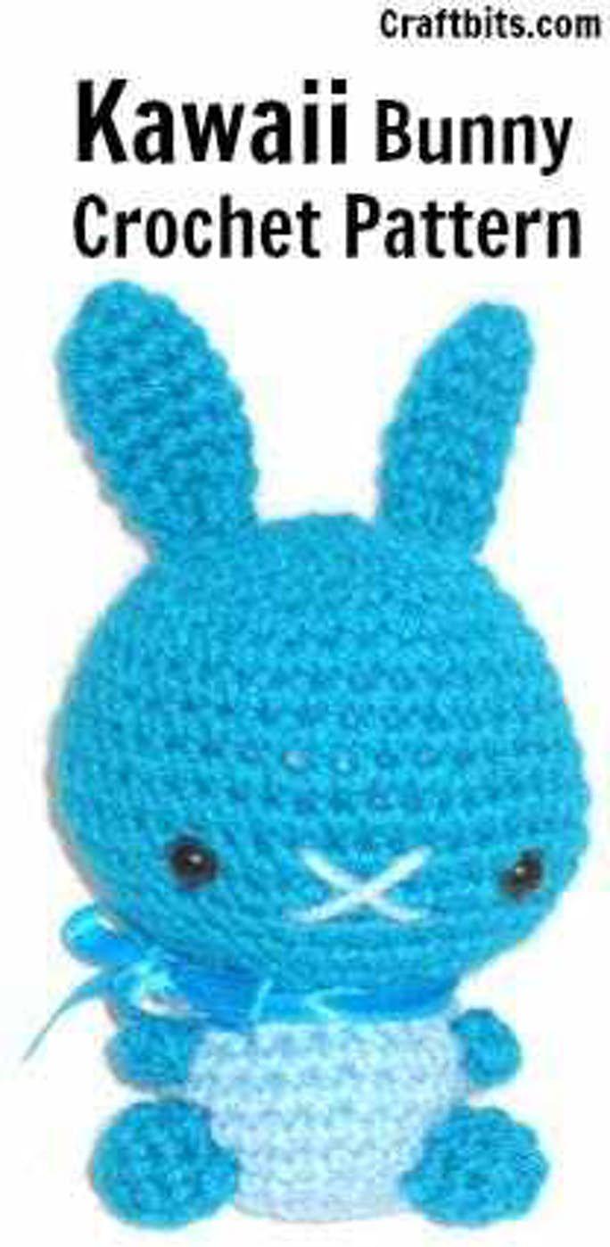 Amigurumi crochet pattern kawaii bunny craftbits crochet
