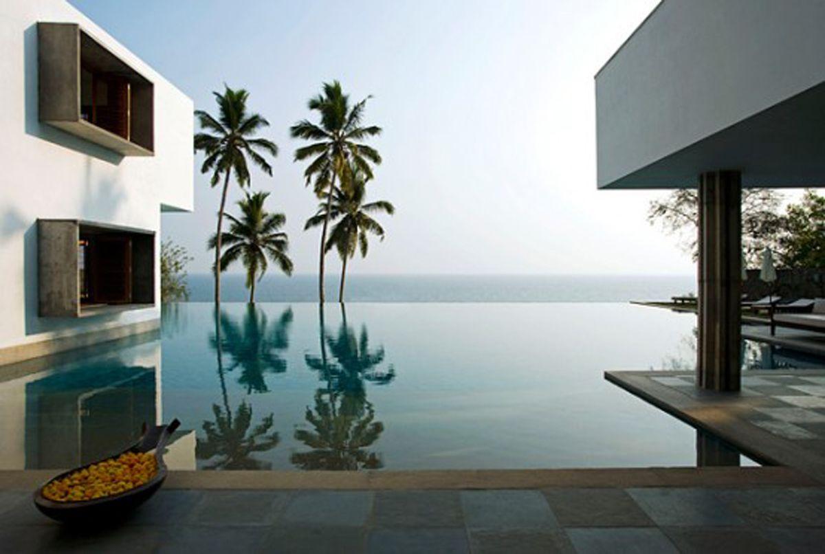Home interior design kerala contemporary asymmetrical residence overlooking the arabian sea