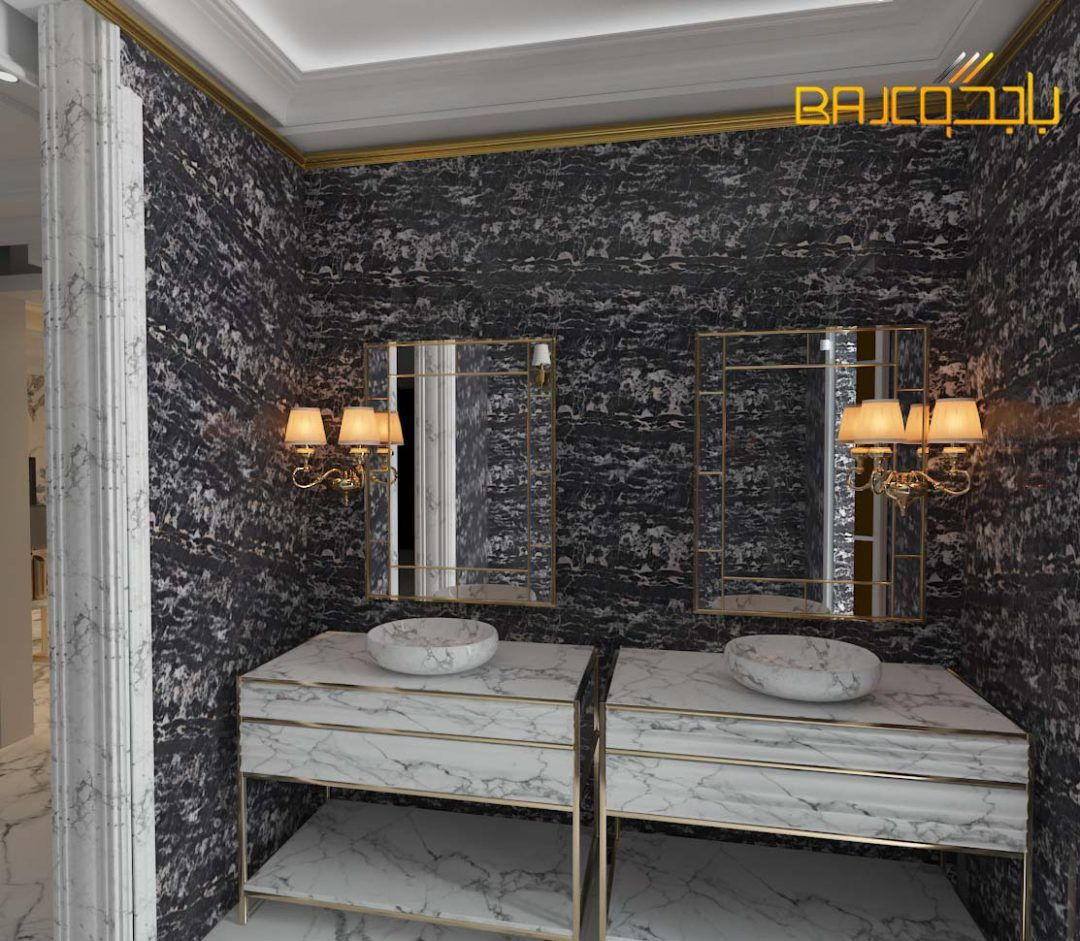 تصميم مغاسل رخام مع قواعد ستيل 2020 Bathroom Design Luxury Modern House Design House Design