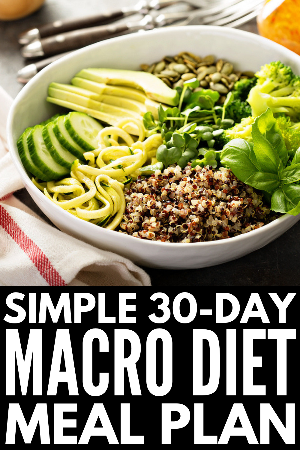The Macro Diet for Beginners: How to Count Macros for Weight Loss #protiendiet