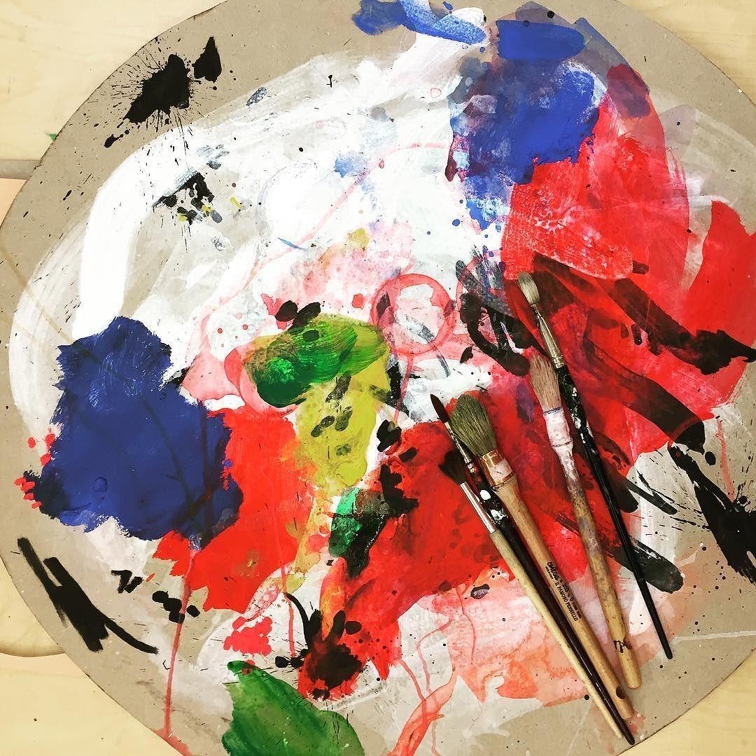 Today's palette....#studio #palette #colour #paint #illustration #illustrator #artist #studiospilsbury