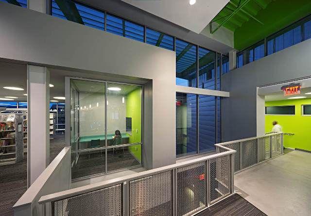 Library Interior Design Award Project Title Anacostia