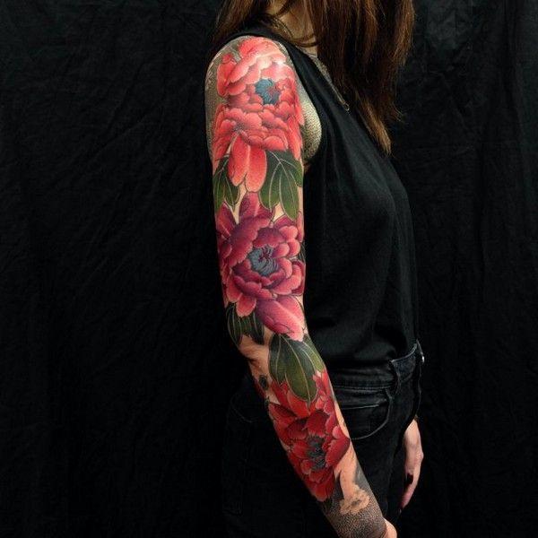 half sleeve tattoos flower tattoo designs flower