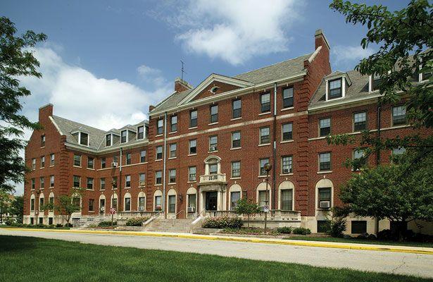 An image of Ball Residence Hall.