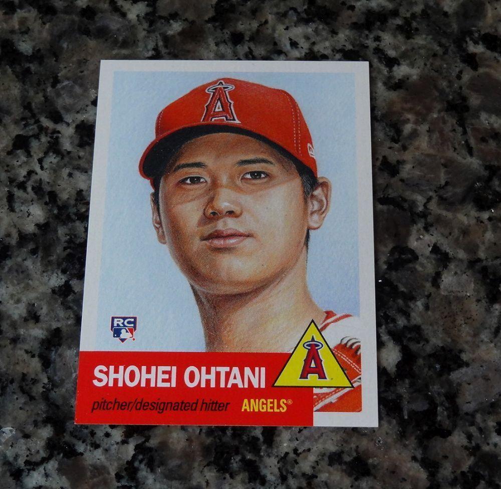 2018 Topps Living Set Break Shohei Ohtani Rc Angels Baseball Card 7